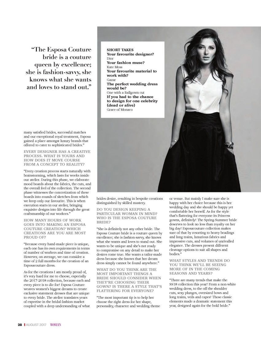 httpsapi.esposacouture.comcontentuploadsInterviewOman-Al-Maraa-The-Woman-Magazine-10-08-17-0028